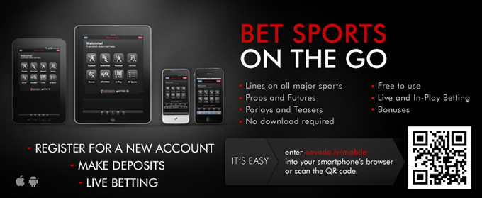 Bovada Mobile Sportsbook Promotion
